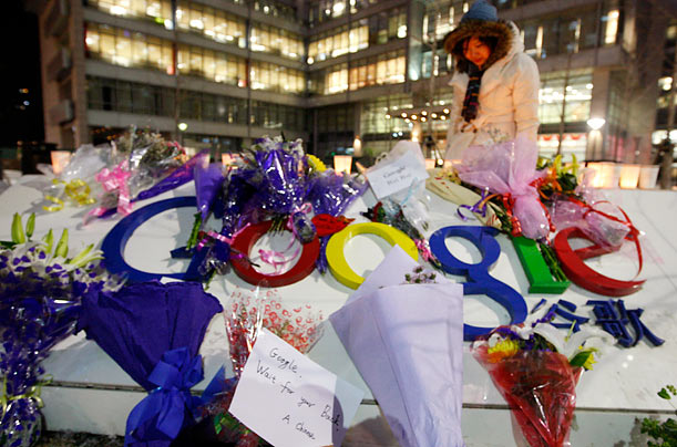 China Mourns the Loss of Google